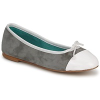 Shoes Women Flat shoes Les Lolitas FELL White-grey