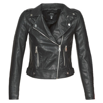Clothing Women Leather jackets / Imitation leather Vero Moda VMKERRIULTRA Black