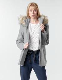 Clothing Women Coats Vero Moda VMCOLLARYORK Grey