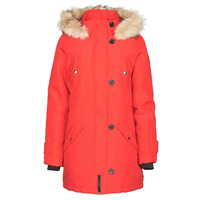 Clothing Women Parkas Vero Moda VMEXPEDITION Red