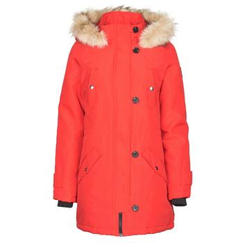 Clothing Women Parkas Vero Moda VMEXPEDITION Red