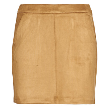 Clothing Women Skirts Vero Moda VMDONNADINA Cognac