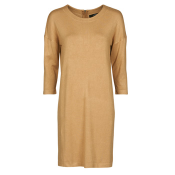 Clothing Women Short Dresses Vero Moda VMGLORY Camel