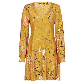 Clothing Women Short Dresses Vero Moda VMCLAYTON Yellow