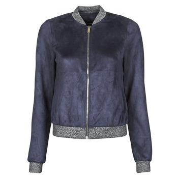 Clothing Women Leather jackets / Imitation leather Vero Moda VMSUMMERELISA Marine
