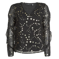 Clothing Women Tops / Blouses Vero Moda VMFEANA Black