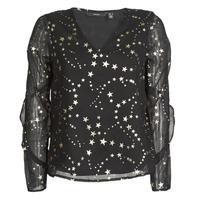 Clothing Women Tops / Blouses Vero Moda VMFEANA Black