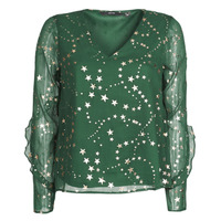 Clothing Women Tops / Blouses Vero Moda VMFEANA Green