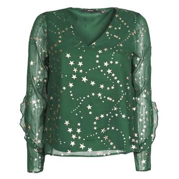 Clothing Women Tops / Blouses Vero Moda VMFEANA Green