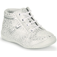 Shoes Girl Hi top trainers GBB ACINTA White / Silver