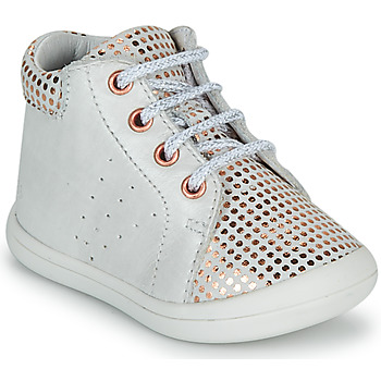 Shoes Girl Hi top trainers GBB NAHIA White