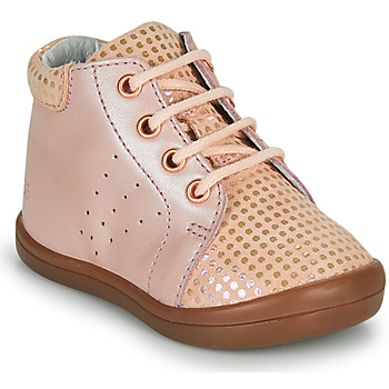 Shoes Girl Hi top trainers GBB NAHIA Pink