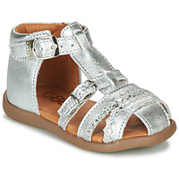 Shoes Girl Sandals GBB ALIDA Silver