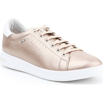 Shoes Women Low top trainers Geox D Jaysen A D621BA-000BV-CB500 gold