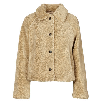 Clothing Women Jackets Only ONLEMILY Cream