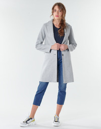 Clothing Women Coats Only ONLCARRIE BONDED Grey