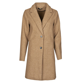 Clothing Women Coats Only ONLCARRIE BONDED Camel