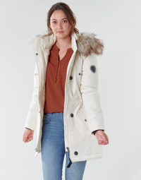 Clothing Women Parkas Only ONLIRIS White