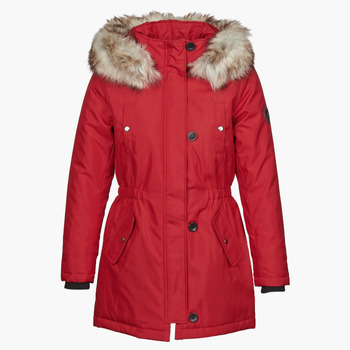 Clothing Women Parkas Only ONLIRIS Red
