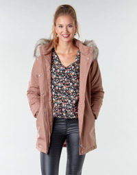 Clothing Women Parkas Only ONLKATY Pink
