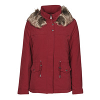 Clothing Women Parkas Only ONLSTARLINE Bordeaux