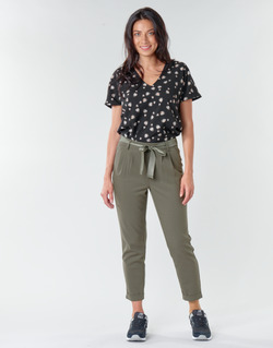 Clothing Women chinos Only ONLRITA Kaki