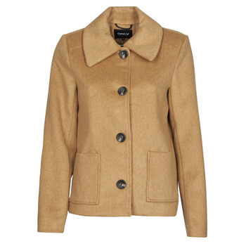 Clothing Women Coats Only ONLALLY Camel