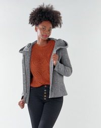 Clothing Women Coats Only ONLNEWSEDONA Grey