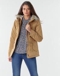 Clothing Women Parkas Only ONLNEW LUCCA Camel