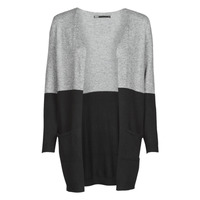 Clothing Women Jumpers Only ONLQUEEN Black / Grey