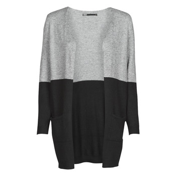 Clothing Women Jackets / Cardigans Only ONLQUEEN Black / Grey