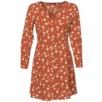 Clothing Women Short Dresses Only ONLASHER Rust