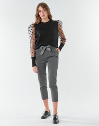 Clothing Women Chinos Only ONLRITA Grey