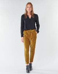 Clothing Women Chinos Only ONLPOPTRASH Camel