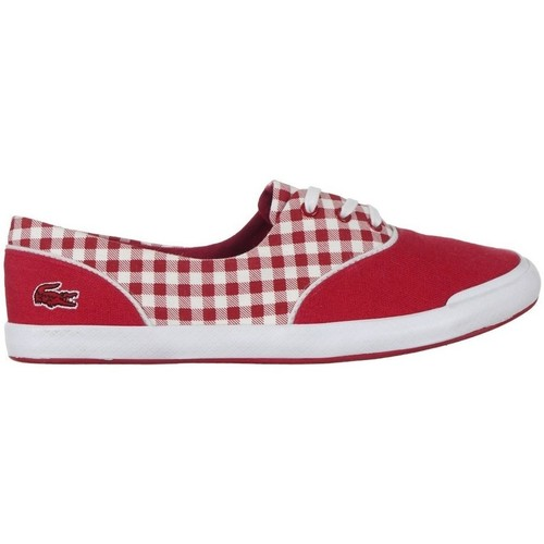 Shoes Women Low top trainers Lacoste Lancelle Lace 3 Eye 216 1 Spw White, Red