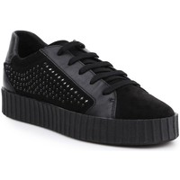 Shoes Women Low top trainers Geox D Hidence Black