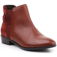 Shoes Women Ankle boots Geox D Lover Brown