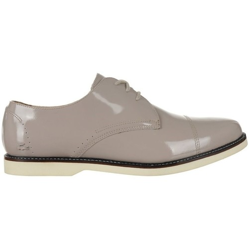 Shoes Women Derby Shoes Lacoste Rene Prep Dby Srw Beige