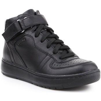 Shoes Women Hi top trainers Geox D Nimat Black