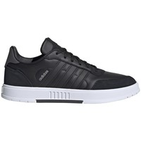 Shoes Men Low top trainers adidas Originals Courtmaster Black