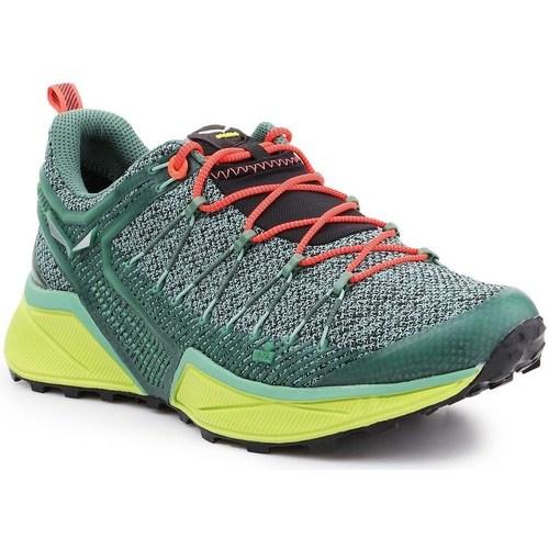 Shoes Women Low top trainers Salewa WS Dropline Green
