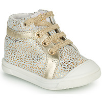 Shoes Girl Hi top trainers GBB NAVETTE Gold