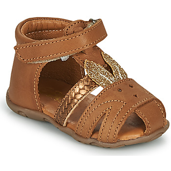 Shoes Girl Sandals GBB FADIA Brown