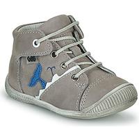 Shoes Boy Hi top trainers GBB ABRICO Grey