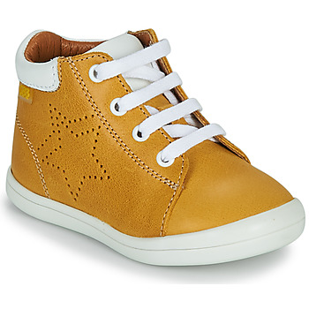 Shoes Boy Hi top trainers GBB BAMBOU Yellow
