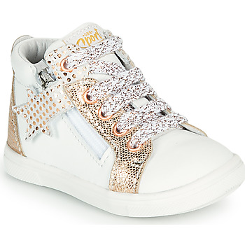 Shoes Girl Hi top trainers GBB VALA White