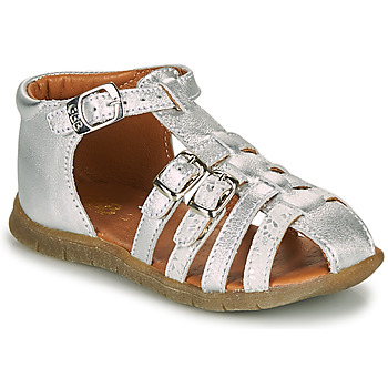 Shoes Girl Sandals GBB PERLE Silver