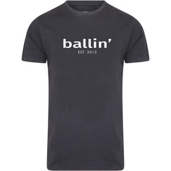 Clothing Men short-sleeved t-shirts Ballin Est. 2013 Basic Shirt Grey