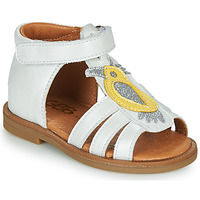 Shoes Girl Sandals GBB FRANIA White