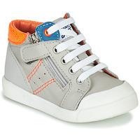 Shoes Boy Hi top trainers GBB ANATOLE Grey